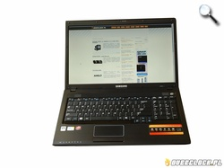 Notebook multimedialny — Samsung R720
