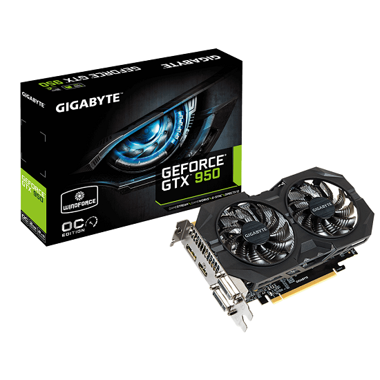 Gigabyte GTX 950 WindForce 2X OC