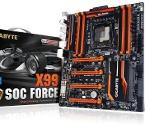 Overclock.pl - X99-SOC Force – flagowa płyta główna od Gigabyte przeznaczona dla Intel Haswell-E