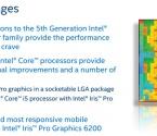Overclock.pl - Procesory Intel Core i7-5775C i Core i5-5675C przedstawione oficjalnie