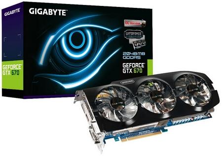 Sprawca całego zamieszania - GeForce GTX 670 WindForce 3X OC