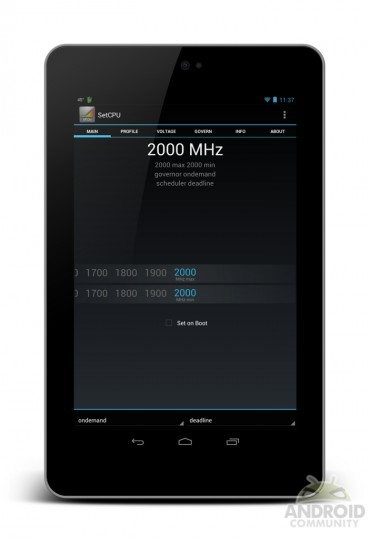 Google Nexus 7 podkręcony do 2 GHz