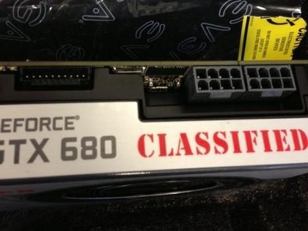 EVGA GeForce GTX 680 Classified już bez złącza EVBot
