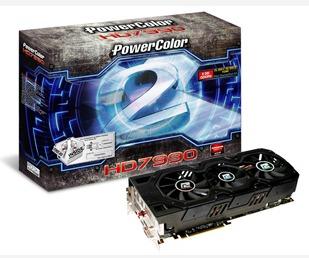 najszybsza karta powercolor hd7990