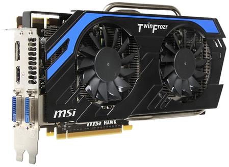 MSI oficjalnie pokazała kartę GeForce GTX 660 Hawk
