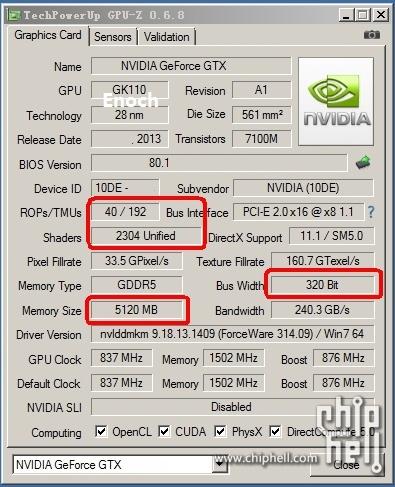 GeForce Titan LE