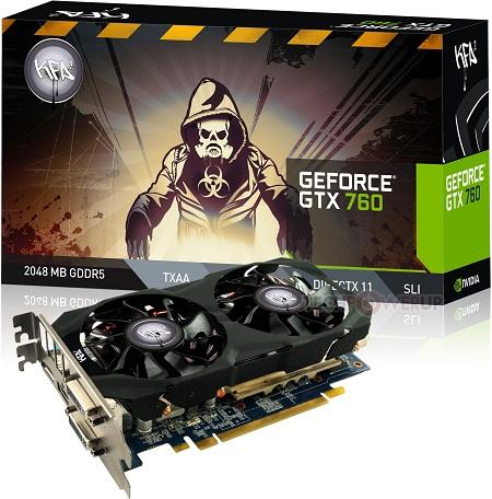 KFA2 GeForce GTX 760 OC V2
