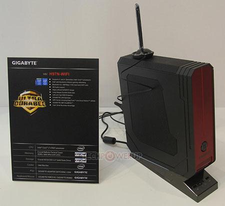 Gigabyte mini-PC Brix z procesorem Core i7-4785T