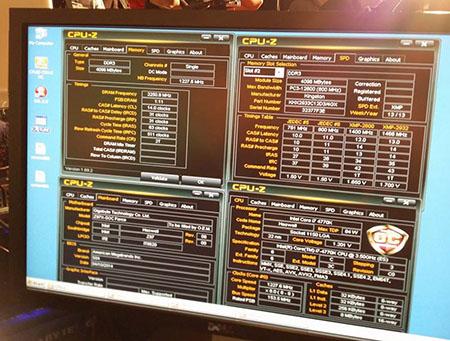 DDR3 podkręcona do 2250,8MHz