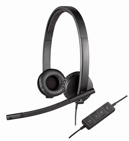 Logitech USB Headset H570e – profesjonalne słuchawki w przystępnej cenie.