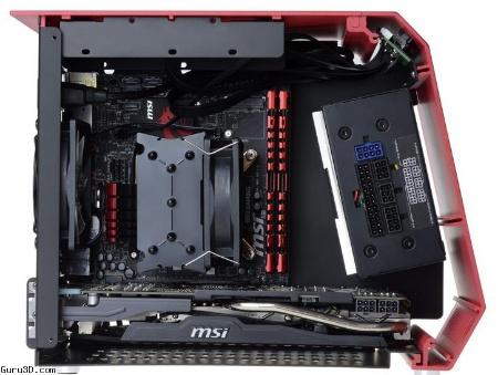 Obudowa mITX o ciekawym kształcie od ID-Cooling - T60-SFX