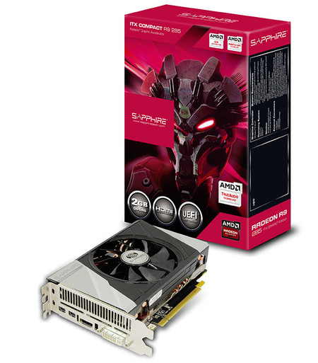 Sapphire Radeon R9 285 ITX Compact Edition – miniaturowa edycja karty graficznej