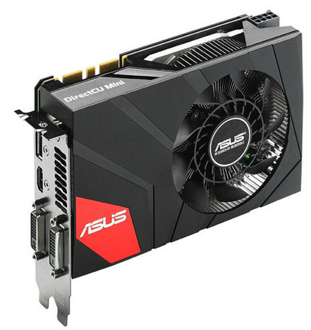 GeForce GTX 970 DirectCU Mini – karta graficzna od Asusa kompatybilna z płytami mITX