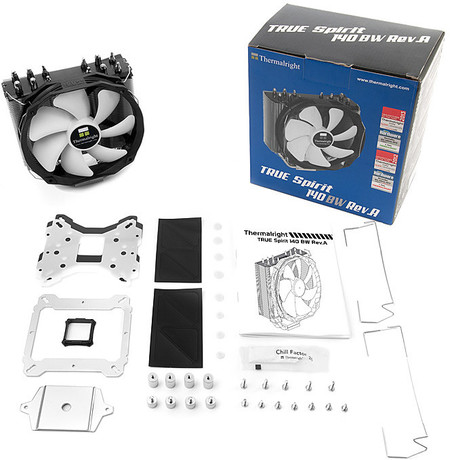 Thermalright True Spirit 140 BW Rev A – nowy cooler CPU od Thermalright