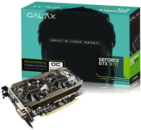 GeForce GTX 970 Black Edition od Galax (dawniej Galaxy)