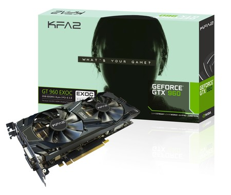 Trzy GeForce GTX 960 od KFA2