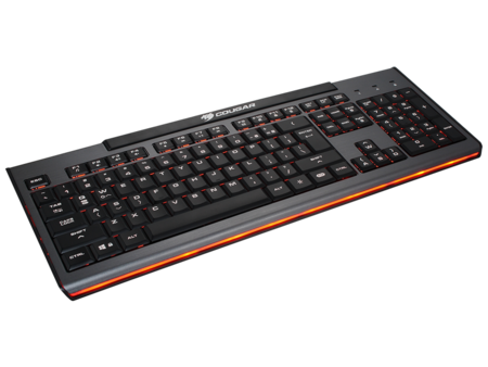 Cougar 200K – niskoprofilowa klawiatura na mechanizmie nożyczkowym