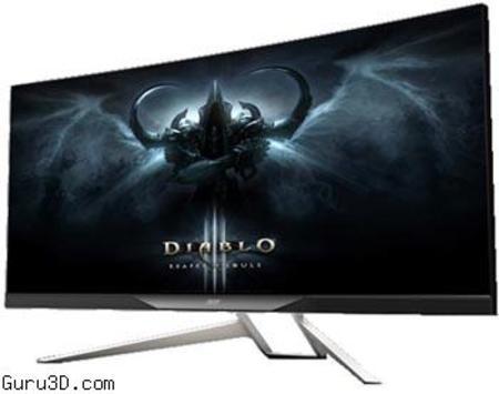 "34"" calowy monitor o proporcjach 21:9 od Acer – Acer XR341CK"