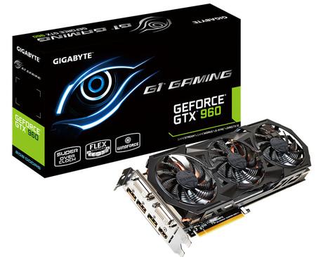 Nowe modele kart graficznych GeForce GTX 960 – tym razem od Gigayte