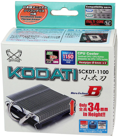 Scythe Kodati Rev. B – chłodzenie procesora obsługujące procesory na podstawkę AM1