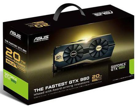 Najszybszy GeForce GTX 980 na dwudziestolecie firmy Asus