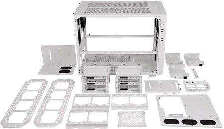 Thermaltake Core X9 Snow Edition - biały transformer