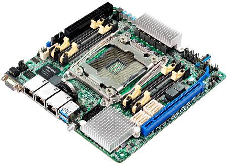 ASRock przedstawia nową płytę serwerową Mini-ITX