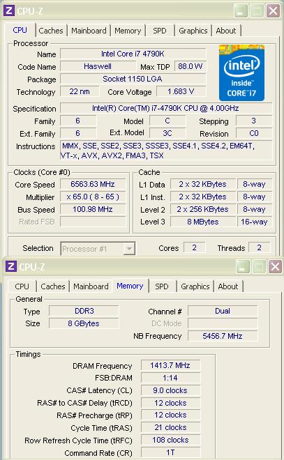 Nowe rekordy SuperPi w kategorii Core i7-4790K