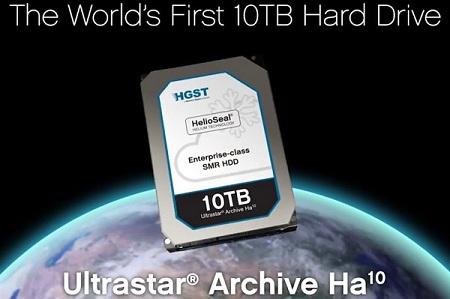 HGST wypuściła 10 TB dysk UltraStar Archive Ha10