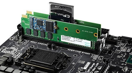 Apacer wypuściła moduły DDR3-1600 z slotem M.2 dla dysków SSD